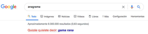 anagrama-en-google