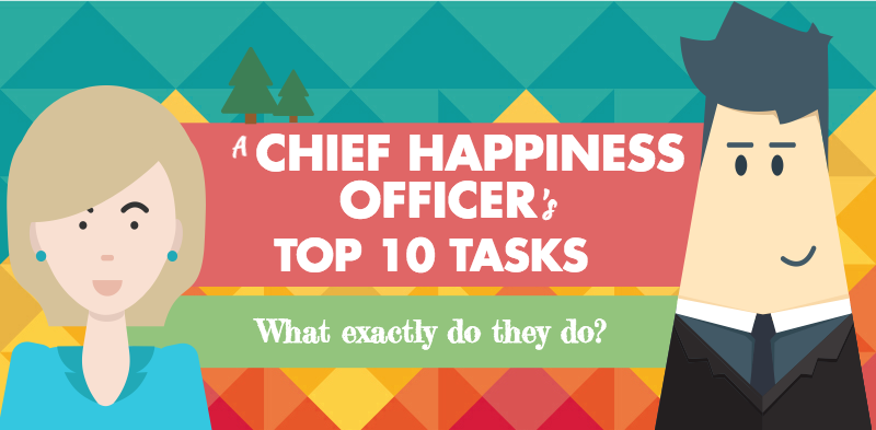 Chief Happiness Officer top 10 tasks