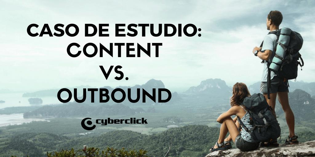 Content vs Outbound Genera ventas inmediatas con contenido