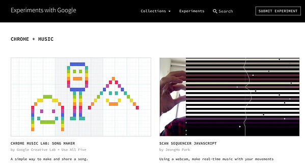 experiments-with-google