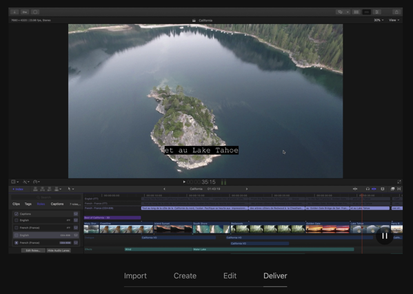 herramientas de vídeo marketing - final cut pro