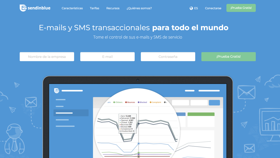 herramientas email marketing - sendinblue