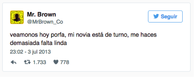 Las 10 pifiadas de Community Managers en Twitter mr brown