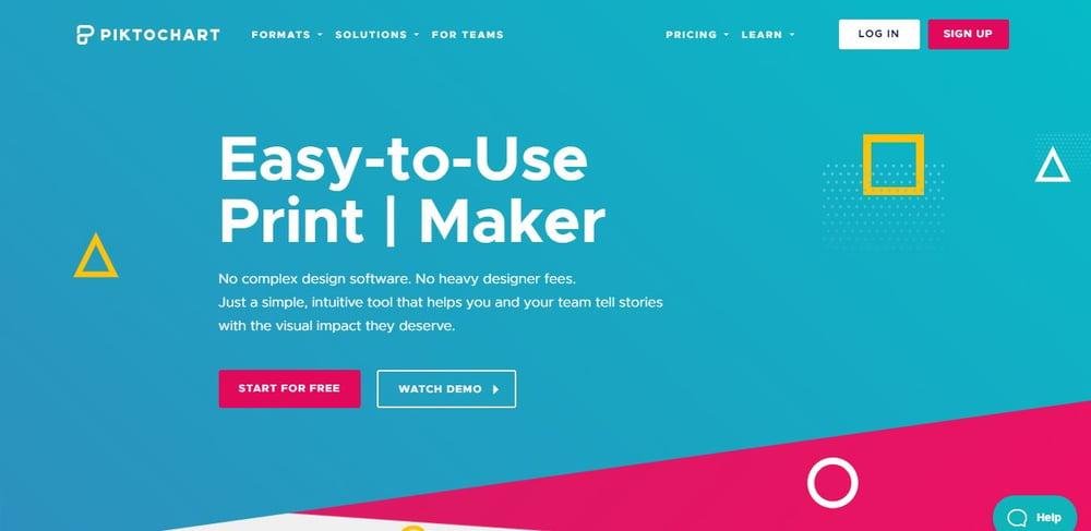 Marketing de contenidos las mejores herramientas para crear infografias - picktochart