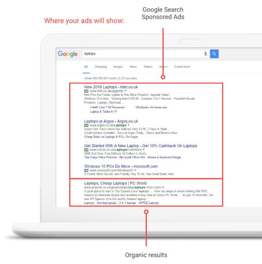 plataformas y tipos de campanas que puedes hacer en google ads3