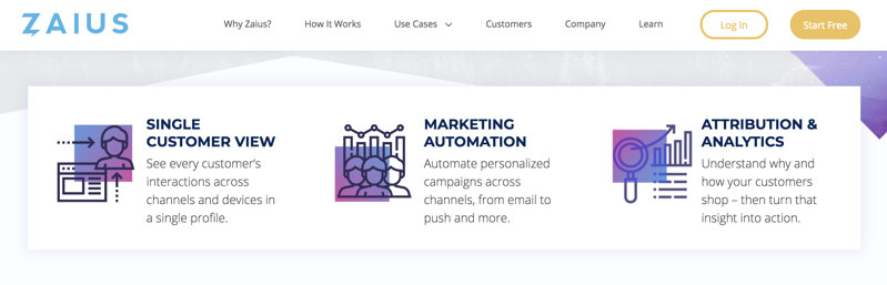 que es customer data platform - zaius