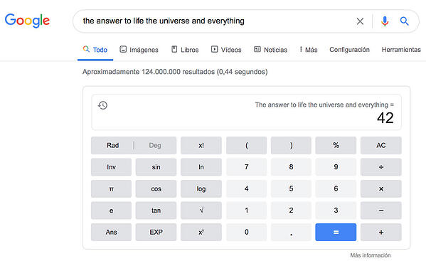 the-answer-to-life-universe-and-evething-google