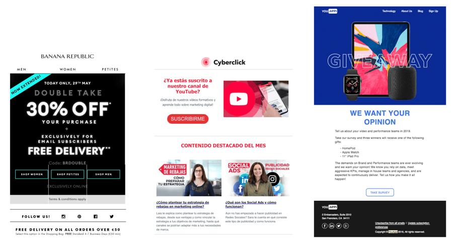 usabilidad email marketing 3