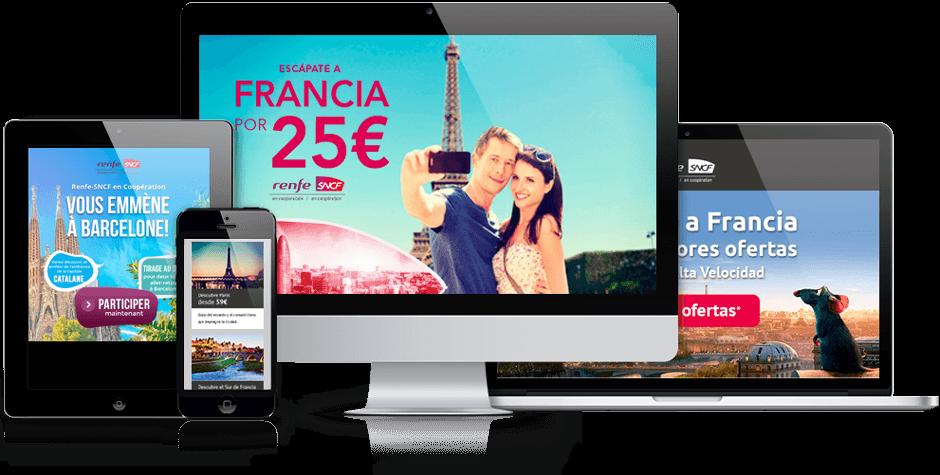 Caso de éxito Renfe-SNCF - Cyberclick
