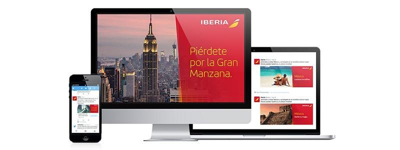 Caso de exito Iberia - Cyberclick