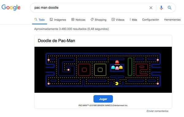 doodle-de-pac-man