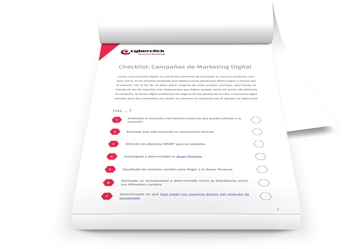 Checklist Marketing Digital