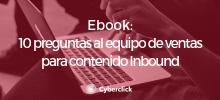 Ebook 10 preguntas + contenido Inbound - Academy