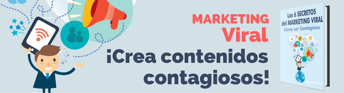 Ebook los 6 secretos del marketing viral: cómo ser contagioso