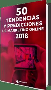 Mockup ebook Tendencias 2018