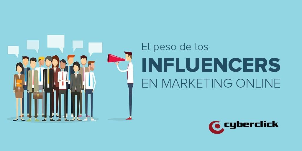 El peso de los influencers en la estrategia de marketing en Facebook, Twitter, YouTube e Instagram