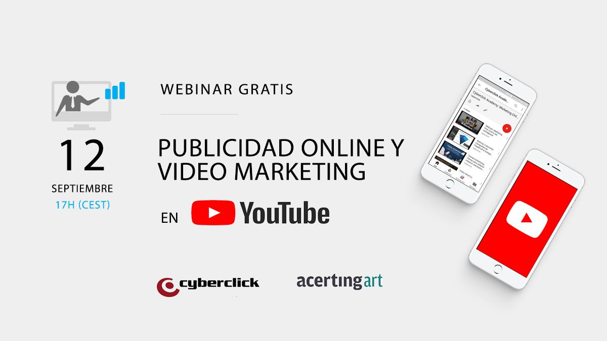 webinar publicidad online y video marketing en youtube