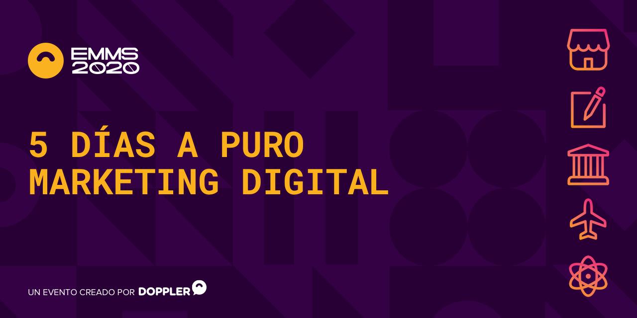 #EMMS2020: evento digital y online de Doppler sobre marketing digital ¡Apúntate!