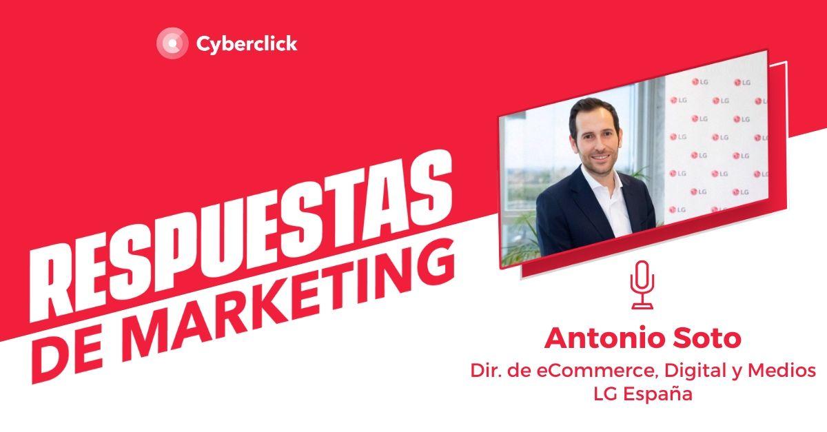 """[ENTREVISTA PODCAST] Antonio Soto, de LG: """"¿Es posible contar con influencers para hablar de lavadoras?"""""""